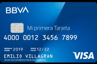 Mi Primera Tarjeta Bancomer Bbva México