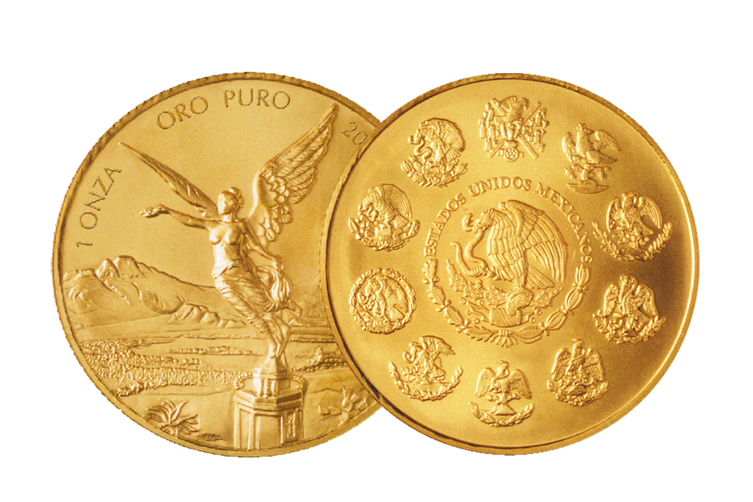 Nueva Serie Libertad Oro Empresas