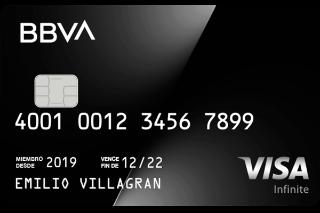 Tarjeta De Crédito Visa Infinite Y Privada Bbva Bancomer